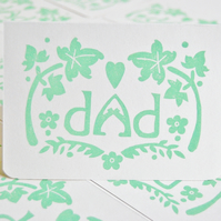 Dad Ivy Card