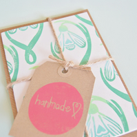 Snowdrop Notelet Bundle