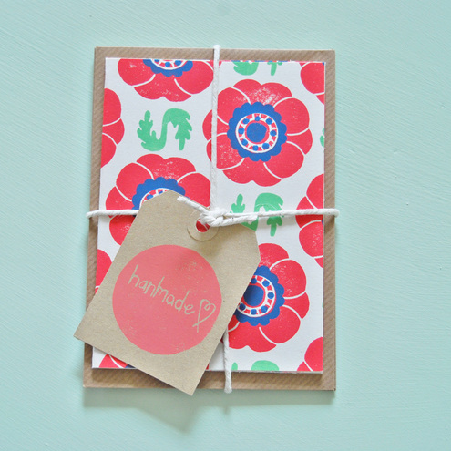 Anemone Notelet Bundle