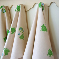 Wren & Fern Tea Towel