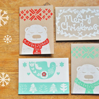 4 Card : Festive Bundle