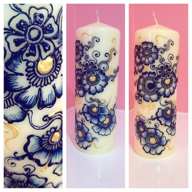 henna inspired candle