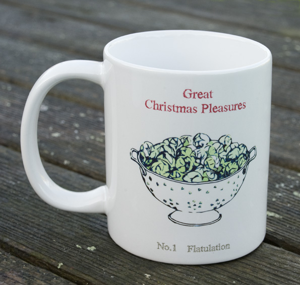 Great Christmas Pleasures Mug - No1 Flatulation