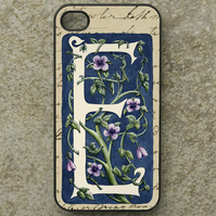 iPhone  or Samsung Galaxy case - Letter E after William Morris