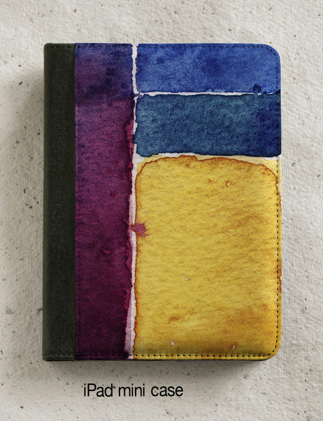 iPad - iPad Air - iPad Mini Case - Abstract watercolour