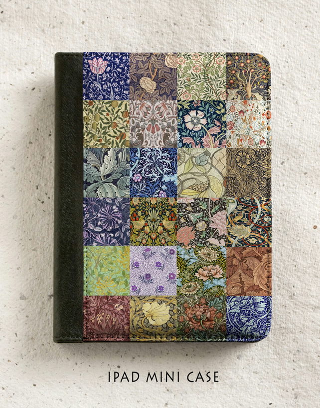 iPad - iPad Air - iPad Mini Case - William Morris patchwork