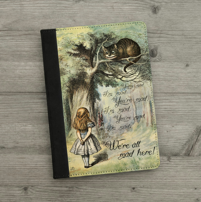 iPad - iPad Air - iPad Mini Case - Alice in Wonderland