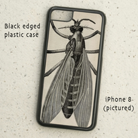 iPhone or Samsung Galaxy case - Vintage Wasp Illustration