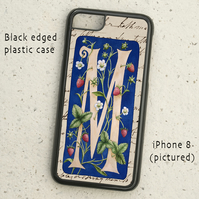 iPhone  or Samsung Galaxy case - Letter M after William Morris