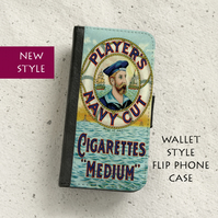 Phone flip case - Samsung Galaxy & iPhone models - Players Cigarettes