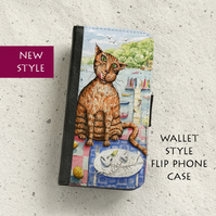 Phone flip case - Marmaduke's free lunch - iPhone and Samsung Galaxy models