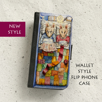 Phone flip case - The Lodgers - iPhone and Samsung Galaxy models