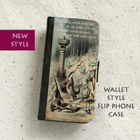 Phone flip case - Samsung Galaxy & iPhone - Jabberwocky