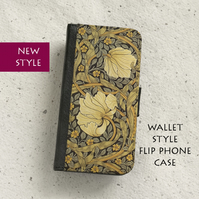 Phone flip case - Samsung Galaxy & iPhone models - William Morris - Pimpernel