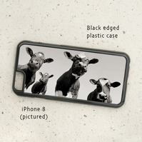 iPhone or Samsung Galaxy case - Four Moos - Cows