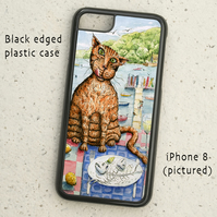 iPhone or Samsung Galaxy case - Marmaduke - Fat Cat