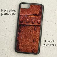 iPhone or Samsung Galaxy case - Rust & Rivets - Abstract Detail