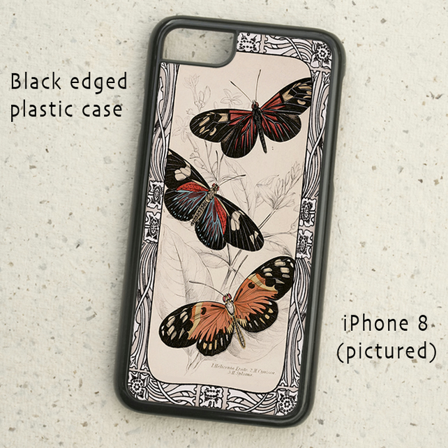 iPhone or Samsung Galaxy case - Butterflies