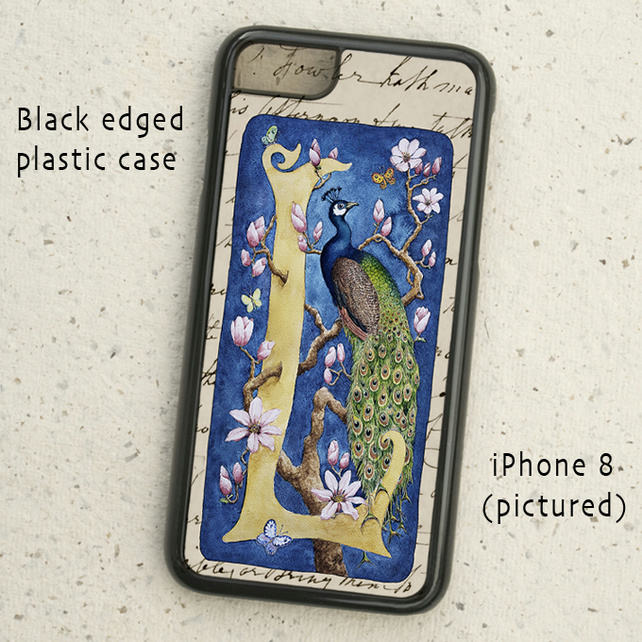iPhone  or Samsung Galaxy case - Letter L after William Morris