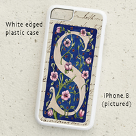 iPhone  or Samsung Galaxy case - Letter S after William Morris