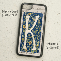 iPhone  or Samsung Galaxy case - Letter K after William Morris