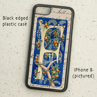 iPhone  or Samsung Galaxy case - Letter F after William Morris
