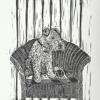 Lloyd Loom Terrier III