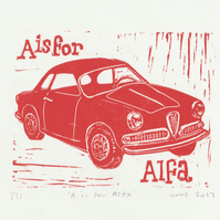 A is for Alfa Romeo