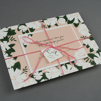 Wedding Invitation Sample - 'Summer Blooms' Range