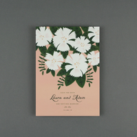 Save The Date Card Sample - 'Summer Blooms' Range
