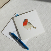 Robin square card