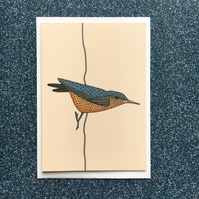 Nuthatch card
