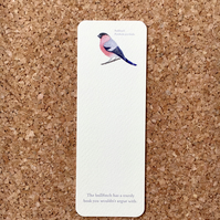 Bullfinch bookmark