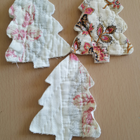 Vintage Quilt Christmas Tree Set