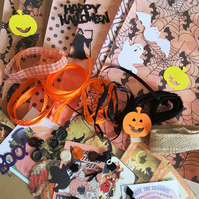 Halloween Craft Inspiration Kit Journal Supplies 1