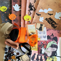 Halloween Craft Inspiration Kit Journal Supplies 2