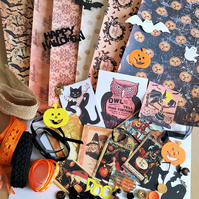 Halloween Craft Inspiration Kit Journal Supplies 3