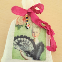 Marie Antoinette Lavender Sachet Bag Room Fragrance Decor