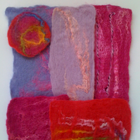 Hand Felted Inspirational Packs
