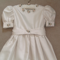 Girls Vintage Style  Bridesmaid, Confirmation, Communion Dress, Party Dress