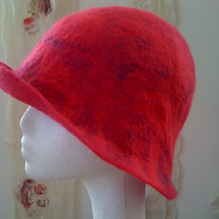 Hand Felted Cloche Hat - Made to Order