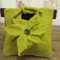 Made to Order Felted Bridesmaid or Evening Bag - various colours available