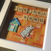 Scrabble letters picture gift