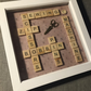 Large 'sewing inspired' scrabble letters picture, perfect gift