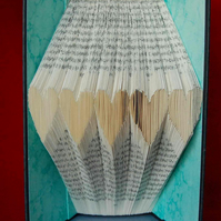 Book Art - Tiny Hearts