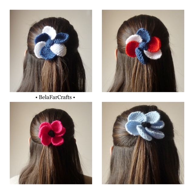 Flower hair bands - Hair accessories - Stocking filler - MADE TO ORDER