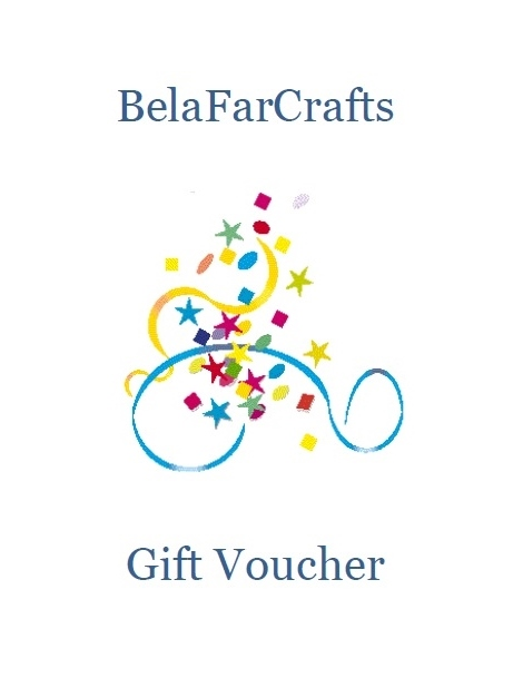 Gift Voucher for BelaFarCrafts - Gift certificate - 25GBP