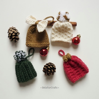 Xmas tree ornaments (4) - Christmas party favours - Winter home decorations
