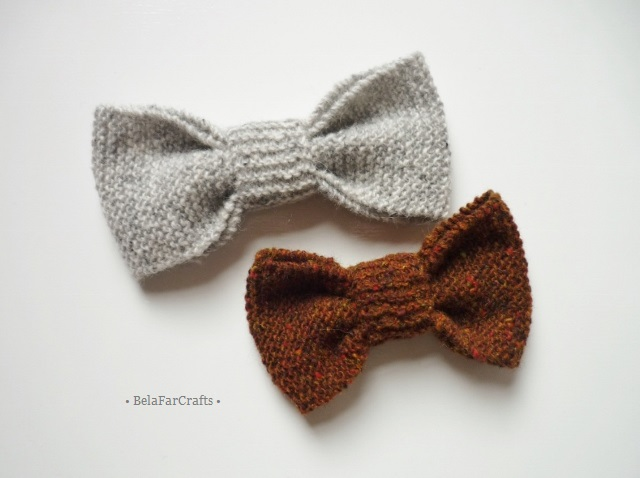 Father & son gift - British tweed bows (2) - Guys wool bows