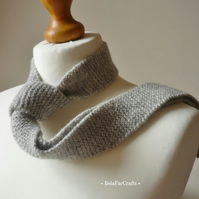 Scottish wool knitted tie - Wool anniversary - Father's Day gift